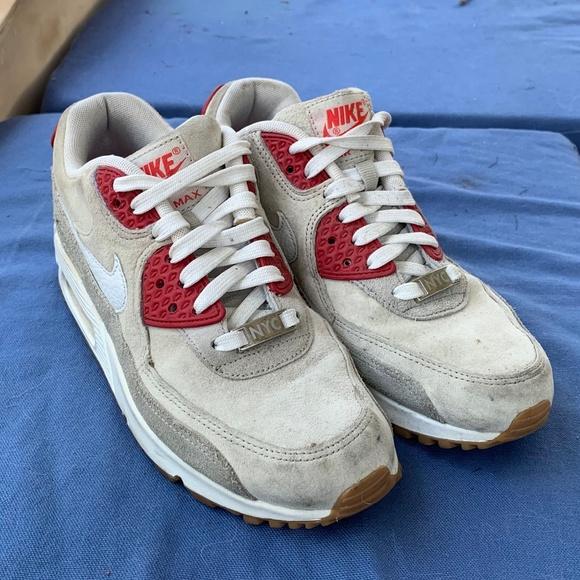 98a52b77c4 Nike Shoes   Airmax 90 Nyc Strawberry Cheesecake Suede   Poshmark